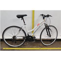 "Roadmaster Granite Peak 18-Speed 25"" Woman's Hybrid Mountain Road Bike"