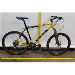 Specialized M4 Stumpjumper Direct Drive Yellow Mountain Trail Bike