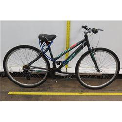 Schwinn Pathway 700C Women's Black Green Hybrid Road Bike