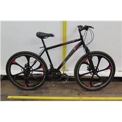 Mongoose Mack Black Element Mag Wheel Mountain Bike