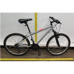 Roadmaster Granite Peak Gray 21-Speed Men's Mountain Bike