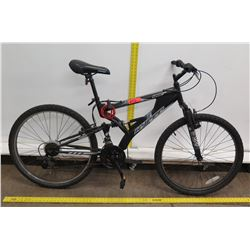 "Hyper Havoc 26"" HPRS Men's Black 21 Speed Full Suspension Mountain Bike"