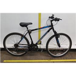 "Roadmaster Granite Peak 18 Speed 15"" Men's Hybrid Mountain Road Bike"