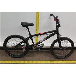 Mongoose Brawler Black Boy's Freestyle BMX Bike