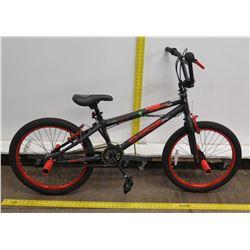 """Kent Chaos FS 20"""" Freestyle Gray Orange Boy's Trick Bike"""