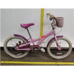 Schwinn Stardust Girl's Pink Purple Bike w/ Woven Basket