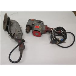 Corded Grinder & Angle Drill