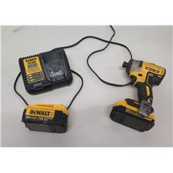 """DeWalt DCF887 Cordless 1/4"""" (6mm) Impact Driver, Extra Battery & Charger"""