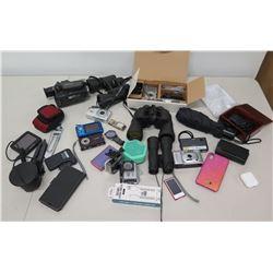 Apple Airpods, Tasco Binoculars, Watches & Multiple Cameras - Nokia, Sony etc