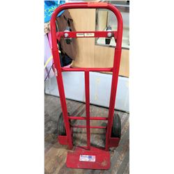 Milwaukee 70080 Red Hand Truck Dolly 800 lb Capacity w/ Solid Wheels