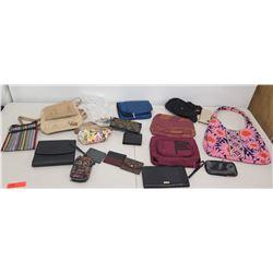 Multiple Misc Bags, Wallets & Cases - Manaola, Aldo, Sakroots, etc