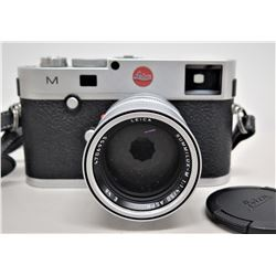 Lecia M (Typ 240) Camera Wetzlar w/ Summilux M 1:1.4/50 E46 Focal Lens