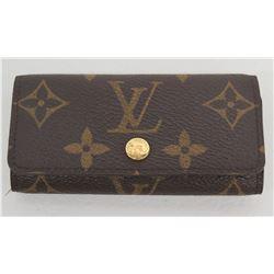 Louis Vuitton 4-Key Monogram Key/Credit Card Case