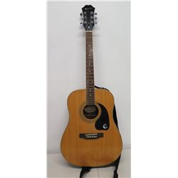 Epiphone Acoustic 6 String Wooden Guitar w/ Strap