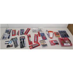 Misc New Tools Ratchets, Sockets, Speed EZ-Out, Torx Key Driver, etc