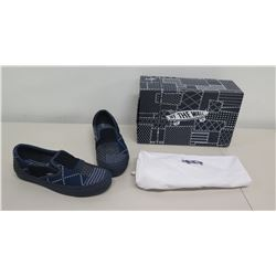 Vans Off The Wall FDMTL Classic Slip On Shoes Size 8.5M/10W w/ Dust Bag & Box