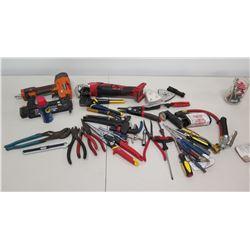 RIDGID R213BNA Brad Nailer, Milwaukee Multi-Tool & Misc Hand Tools