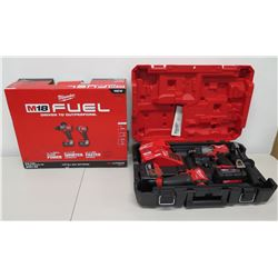 New Milwaukee M18 Fuel 2997-22  2-Tool Combo Kit in Case
