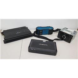 Qty 4 Car Stereos - Bose RDS CD6, Nissan PN-28370, Pickford Fosgate, Alpine