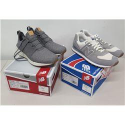 Qty 2 Men's Sz 11.5 New Balance Shoes (Running Course & Classics Traditionnels)