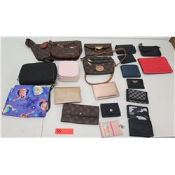 Multiple Misc Designer Wallets & Clutches - Disney, Beverly Hills Polo, Vans, etc