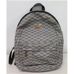 Authentic Michael Kors Logo Backpack