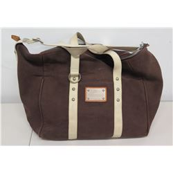 Louis Vuitton Cup 'America's Cup' Yachting Canvas Duffel Bag