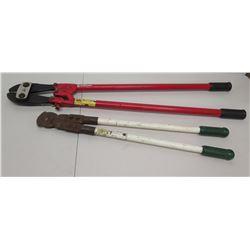 Qty 2 Custom Cut Bolt & Pipe Cutters