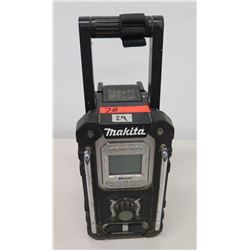 Makita Bluetooth 18V LXT Lithium Ion Cordless Job Site Radio w/ Battery