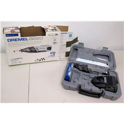 Dremel 8220 Cordless 12V High Performance Rotary Tool w/ Accessories & Case