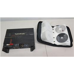 Rockford Fosgate Punch P200-2 Car Amplifier & Case Misc CD's