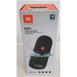 New JBL Harman FLIP 4 Portable Bluetooth Speaker in Box