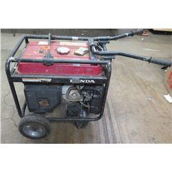 Honda Portable EB 5000X 120V Industrial 5000W Generator