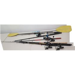 Fishing Rods & Reels - Graphite, Long Cast, etc & Kayak Paddle