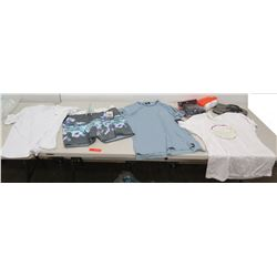 Misc Clothing - Hurley & Local Motion T-Shirts, Billabong Shorts, Quiksilver Slippers, etc