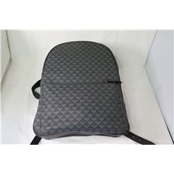 Emporio Armani Logo Backpack w/Black Leather Straps (not from HPD)