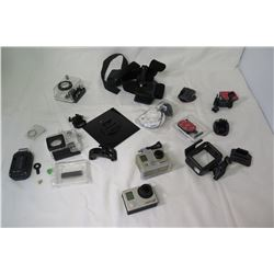 Qty 2 GoPro Hero Cameras and Misc Accessories (not from HPD)