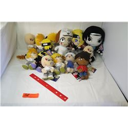 Misc. Plush Japanese Action Figures - Naruto, Bleach, etc (not from HPD)