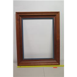 "Large Art Frame, Approx. 39"" x 48"" No Glass (not from HPD)"