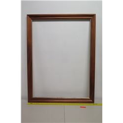 "Large, Thick Art Frame, Approx. 43"" x 56"" No Glass (not from HPD)"