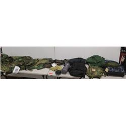 Camo One-Person Tent, Backpacks, Duffel, Cover, Bivy Covers, Mosquito Netting, etc (not from HPD)