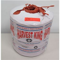 New Roll of 'Harvest King' Baler Twine (not from HPD)
