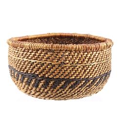 Yoruk Indian Woven Basket c. 1950's