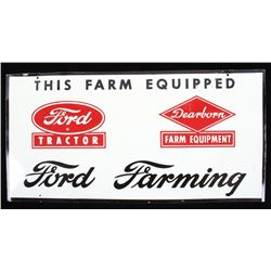 Ford Tractor & Dearborn Farm Equipment Tin Sign