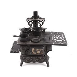 Crescent Salesman Sample Cast Iron Stove