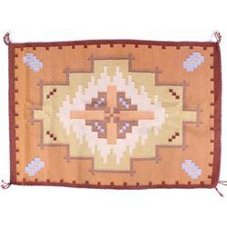 Navajo Burntwater Pattern Wool Rug