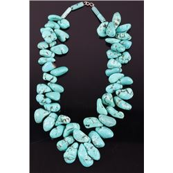 Navajo Sleeping Beauty Turquoise Gemstone Necklace