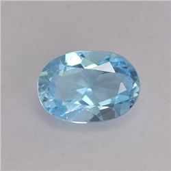 1.5 ct. Natural Blue Topaz Gemstone