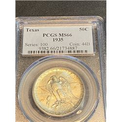 1935 Texas MS 66 PCGS Half Dollar