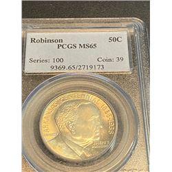 1936 Arkansas Robinson - MS 65 PCGS Half Dollar